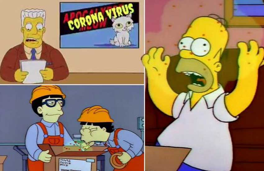 The Simpsons fans convinced show predicted coronavirus outbreak in 1993 episode
