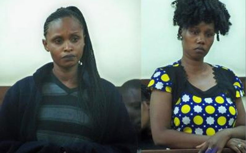 Barmaids charged with spiking customer's drink