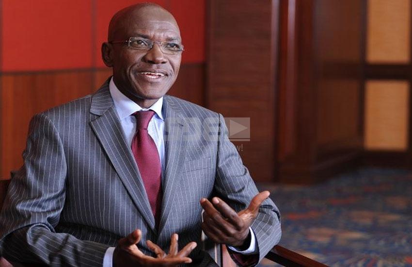 Former Kakamega Senator Boni Khalwale in mourning