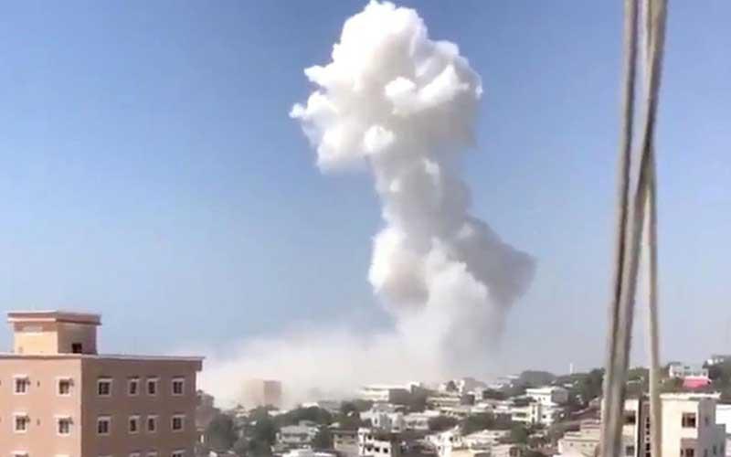 Car bomb claimed by al Shabaab kills at least five in Somali capital
