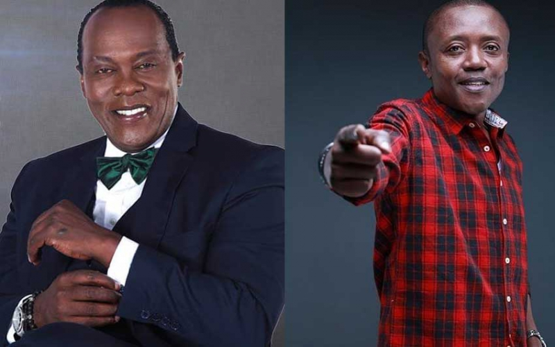 Check out what Jeff Koinange gifted Maina Kageni on birthday