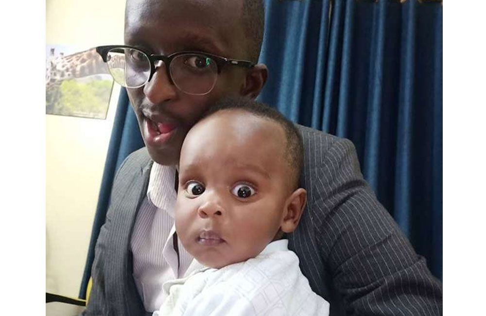 Comedian Njugush shares photo of his all grown son