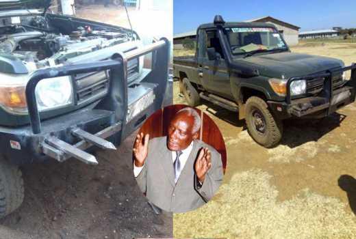 Controversial Eldoret businessman Kibor eats humble pie, removes spikes