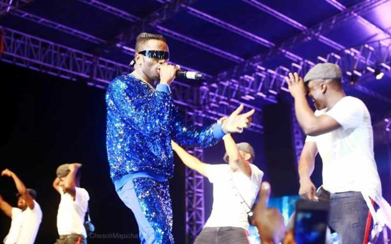 Diamond declines to perform banned 'Mwanza' song in Mombasa