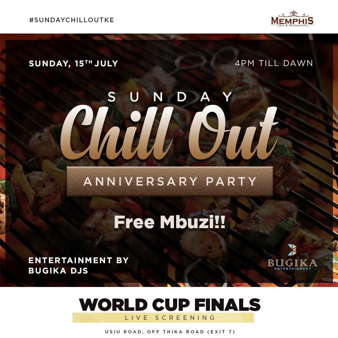 World Cup Final! Enjoy free mbuzi at Memphis Bar and restaurant