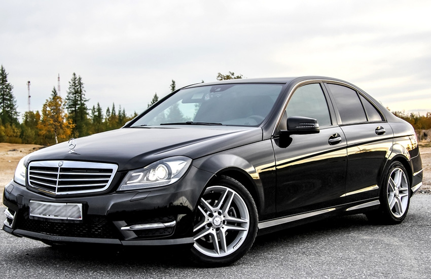 Five-year-old boy wins sleek Benz after performing 3000 press-ups