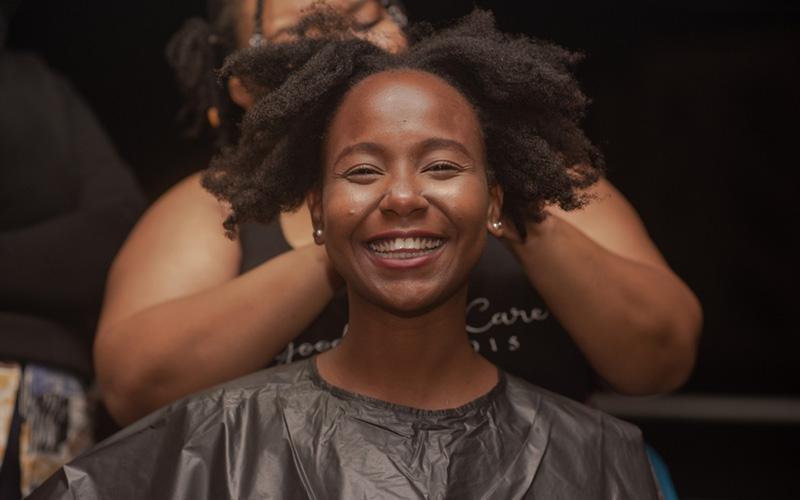 Hairdresser raking in cash thanks to planning ahead