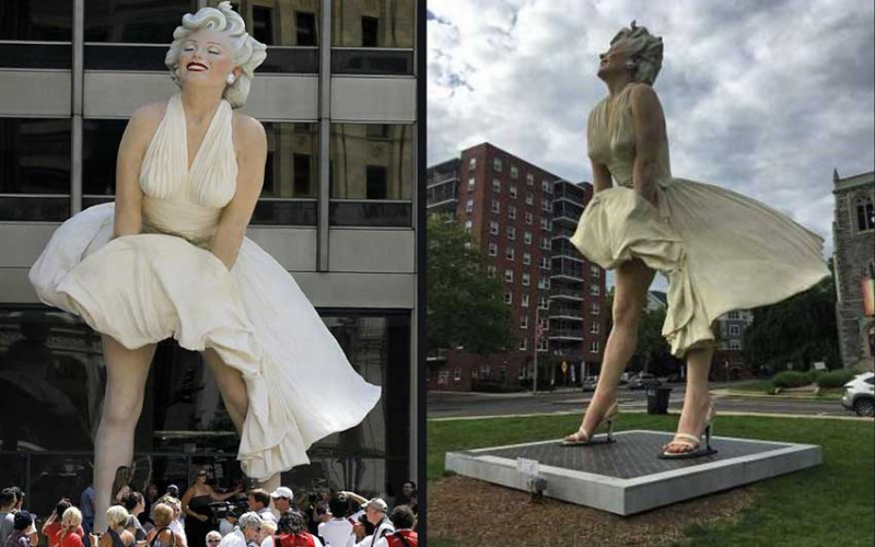 How Marilyn Monroe's white cocktail dress made history