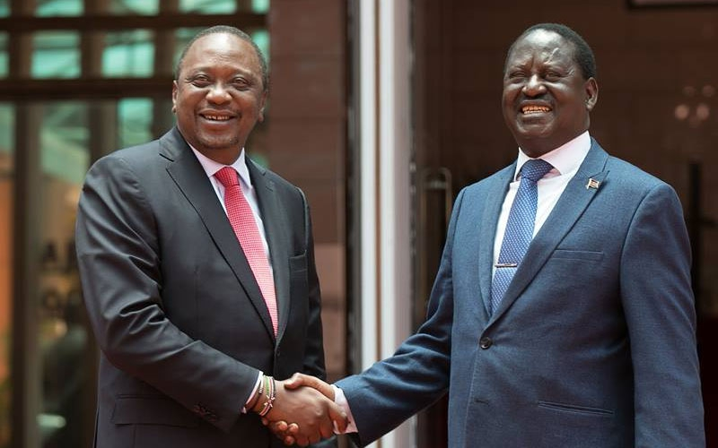 How Uhuru is fattening Raila for slaughter