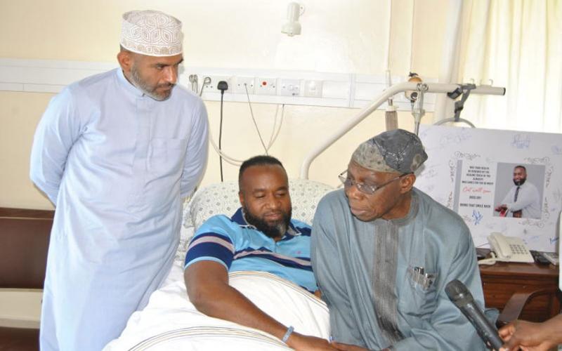 Joho hospitalised, meets former Nigerian president