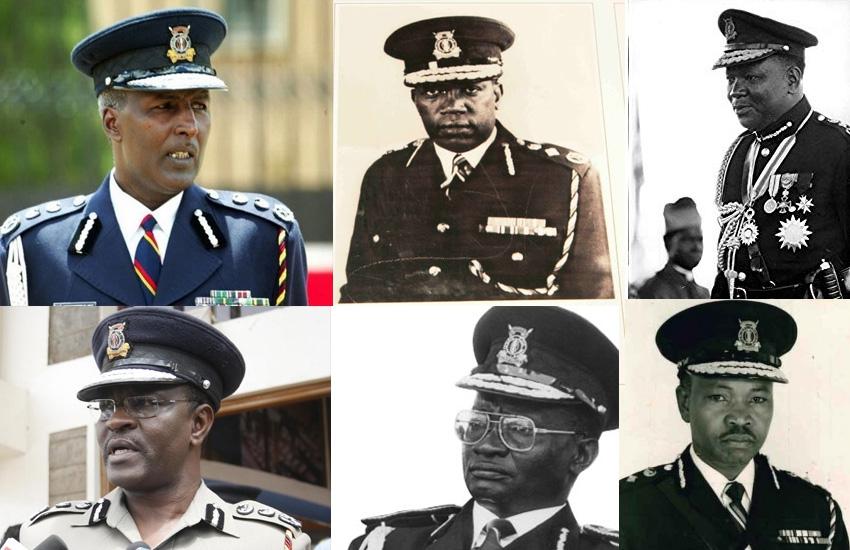 Kenya's 12 police bosses in focus: A closer look into their tenure