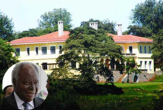 KIbaki's new love for his Sh400m Mweiga home