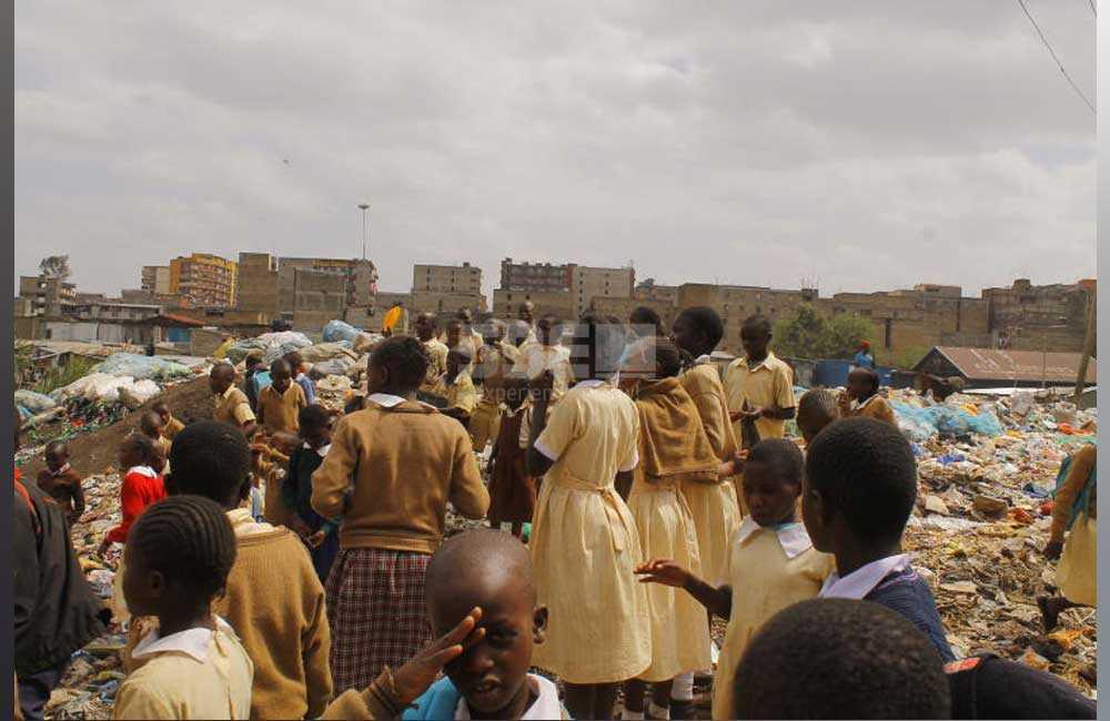 Mathare North Primary: Where foetus dot school, drug addicts roam freely