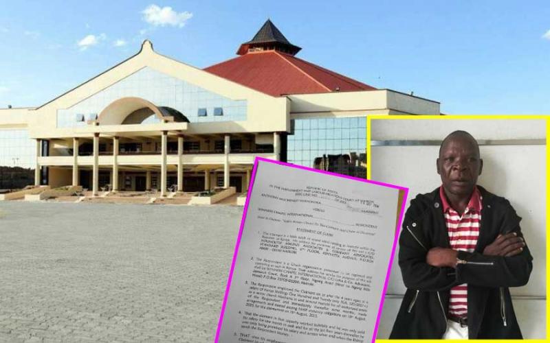 Mechanic wants Sh5 million salary from Winners' Chapel