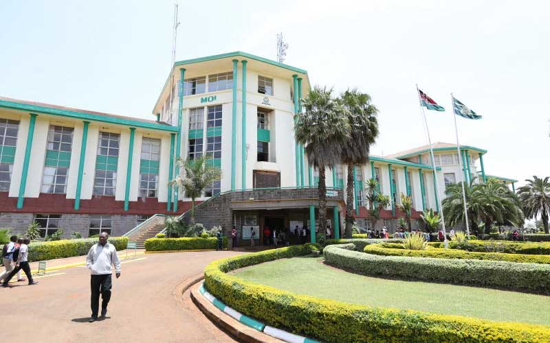 Moi University to supply fabric for police uniform