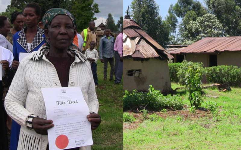 New dawn: Shock as court allows aged girls to inherit dad's property