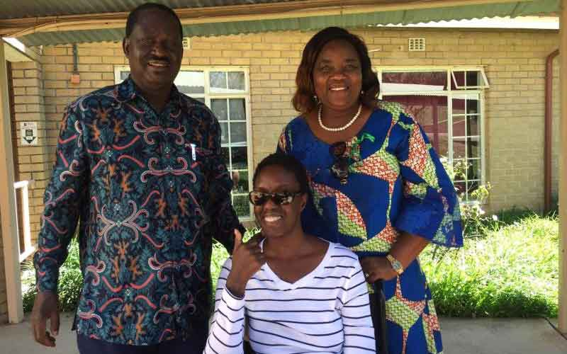 Raila opens up on how doctors saved his daughter's life
