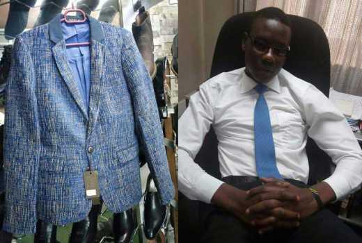 See that smart MP? I make him look good: Stylist Derrick Ochieng