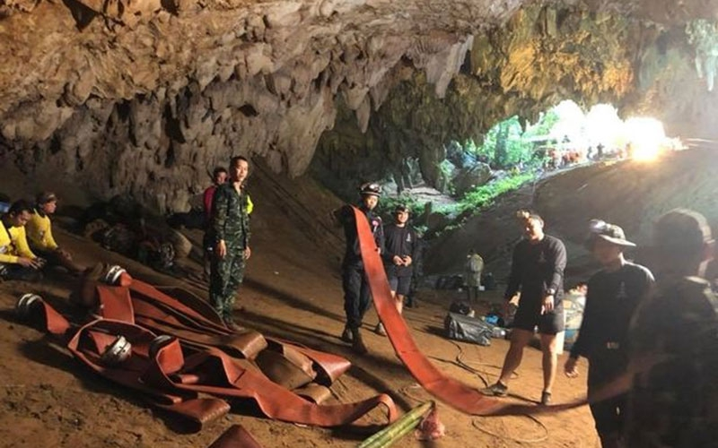 Thai diver dies from infection contracted during cave rescue that saved 12 boys