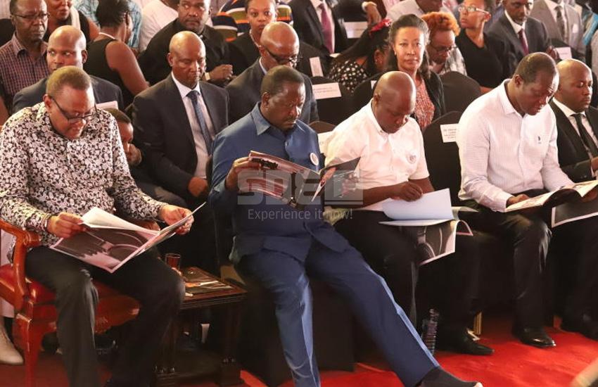The 'Handshake' is now Raphael Tuju's political lollipop
