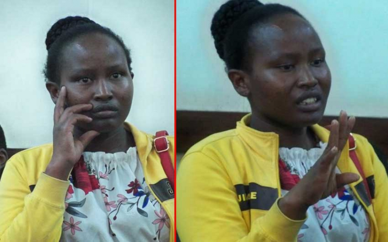 Wife in court for burning 'absentee' husband