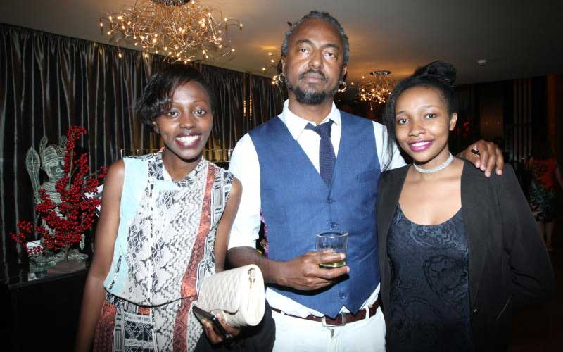 Dj Zalem with Pulse's Peris Wambugu and Ahadi Wamb
