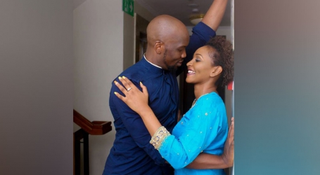 Top music producer Jacky B holds a beautiful out of town wedding