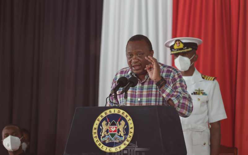 Uhuru tells bodaboda riders how saving Sh50 a day can change their lives forever