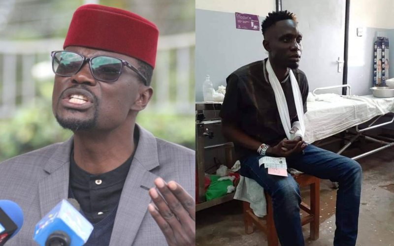 VIDEO: Didmus Barasa denies slapping contractor, says he was telling him to zip up trouser