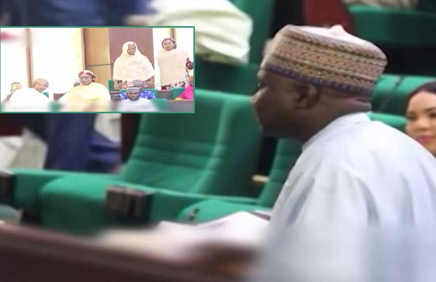 VIDEO: Lawmaker presents his four wives to parliament in 'show of force'