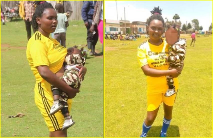 Viral breastfeeding photo fuels optimism for Nyandarua footballer