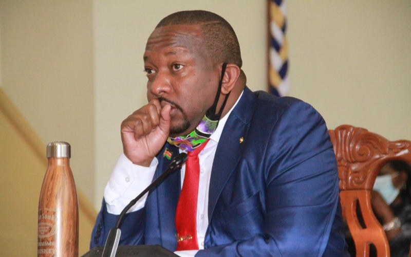 'Wash wash' deals will dig you an early grave – Sonko tells the youth