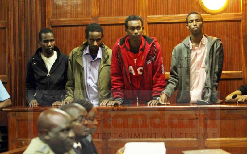 Westgate terror suspects complain about Kamiti conditions