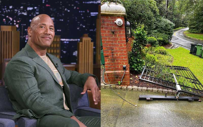 Why Dwayne Johnson ripped his gate off its hinges with bare hands