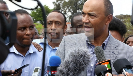Will Peter Kenneth box Governor Kidero out of City Hole?