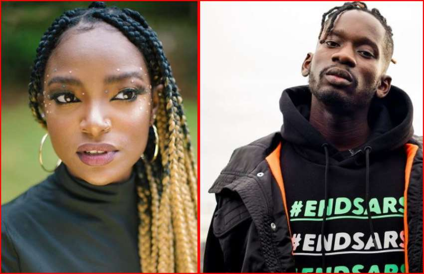 Xenia Manasseh getting easy on latest Mr. Eazi project