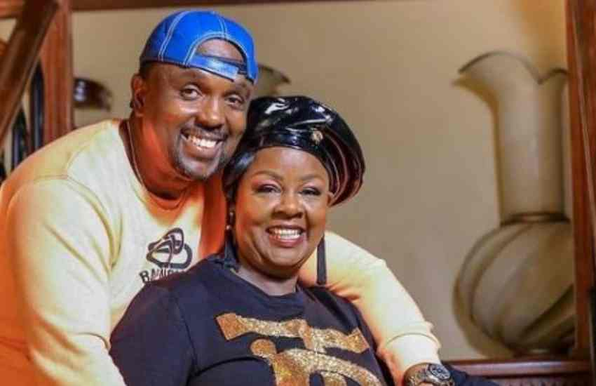 Reverend Kathy Kiuna's sweet tribute to husband Allan
