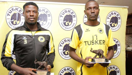 Allan Wanga and Lloyd Wahome crowned Tusker players of the month
