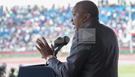 As things stand, Uhuru's 2017 concession speech might just be ready