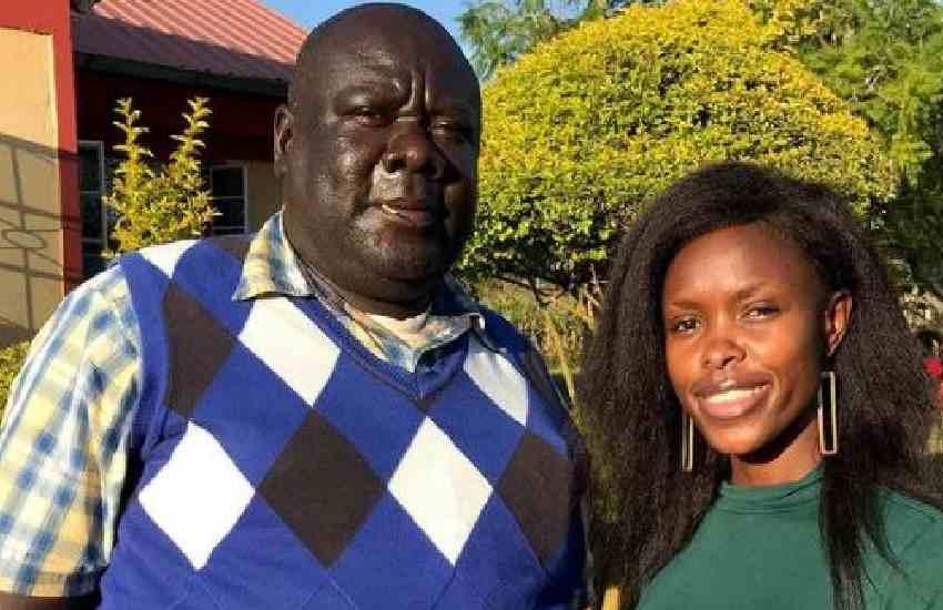 Awinja moves netizens with photos of Papa Shirandula's brother