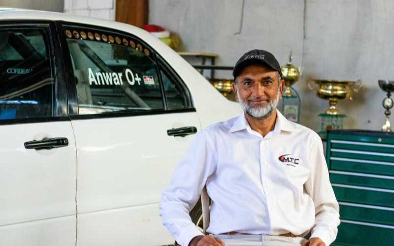 Azar Anwar: Life on the fast lane