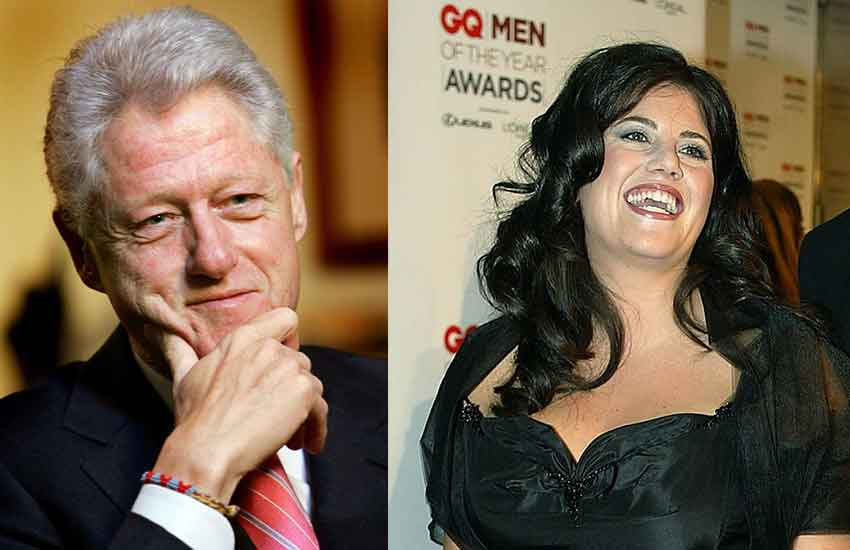 Clinton claims he slept with Lewinsky 'to ease pressures of Presidency'