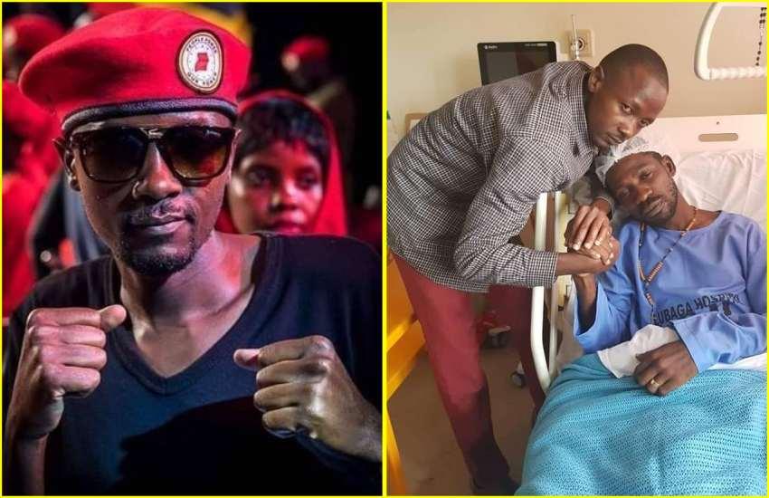 Bobi Wine's prayer for 'missing brother-in-law'