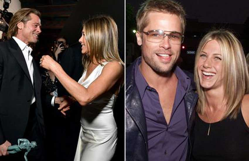 Brad Pitt and Jennifer Aniston are 'back in love'