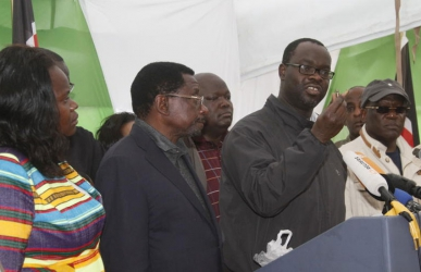 Don't confront the police, NASA leaders appeals to supporters