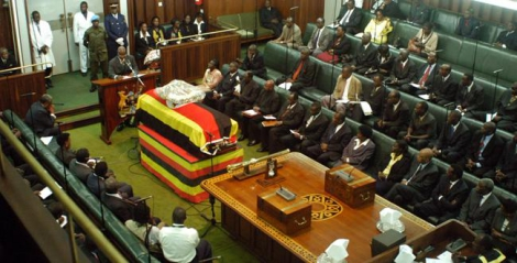 Drama as MP attempts suicide in Parliament over new district