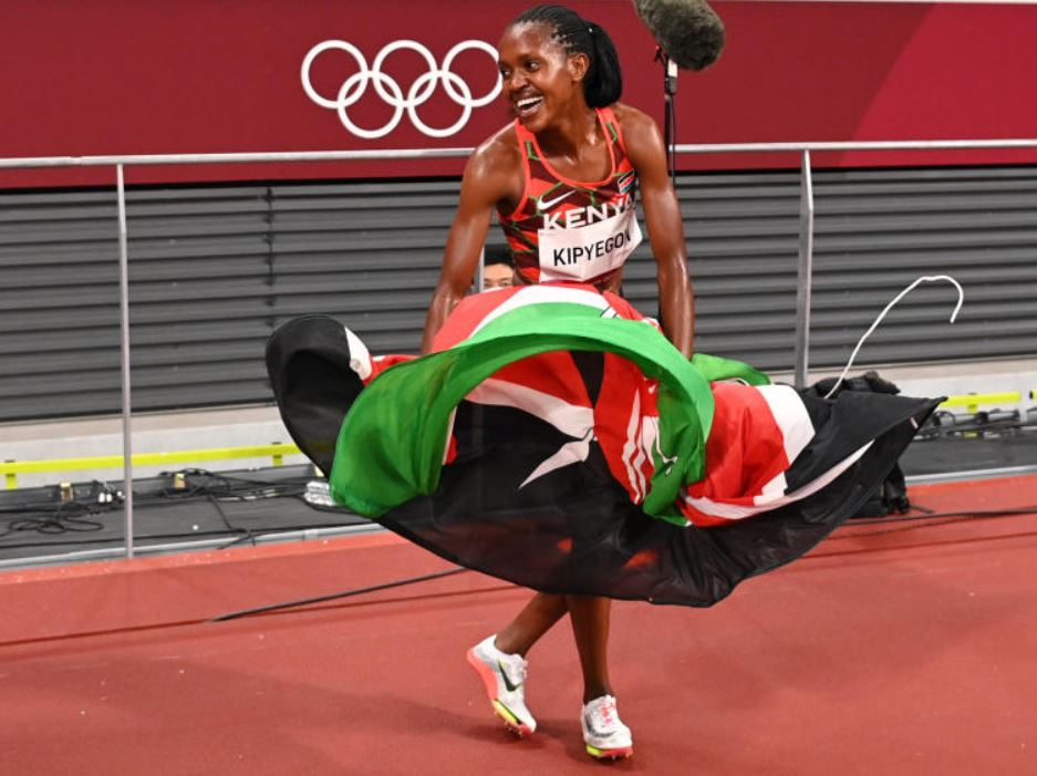 Faith Kipyegon: Not done yet, I have big plans