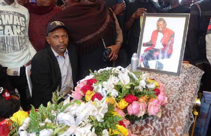 Heroic sendoff for popular music star Rhino Kaboom