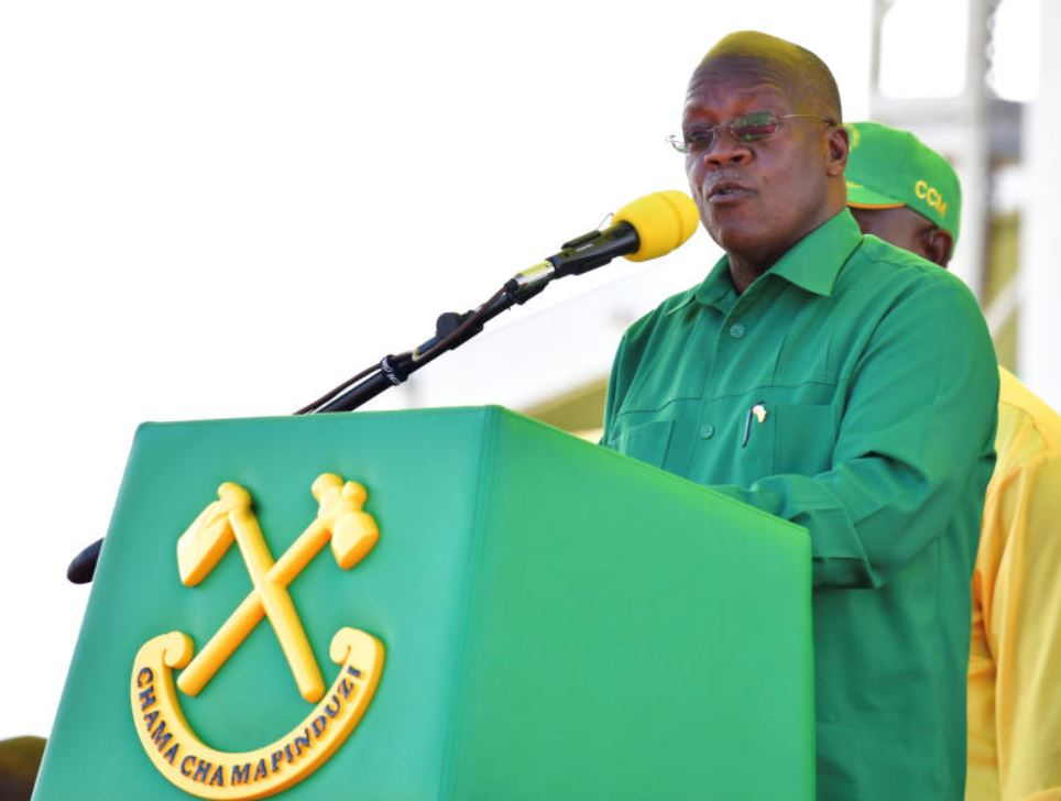 How entertainers gifted Magufuli with a new term