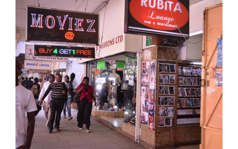 How Kenyans ditched their trusted movie shops for internet